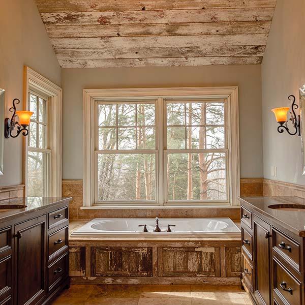 Large remodeled bathroom